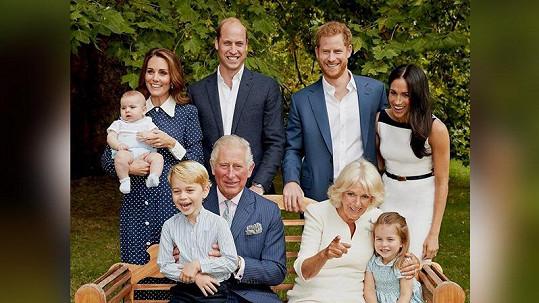 Charles oslavil 70. narozeniny se svými nejbližšími.