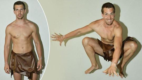 Peter Pecha se představí jako Tarzan.