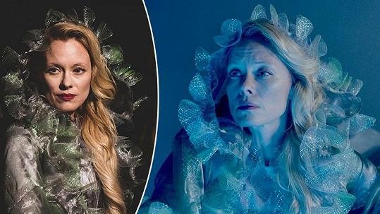 Éterická herečka zazáří v nové roli.