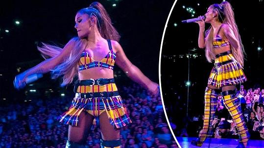 Ariana Grande se na světové turné pořádně vyzbrojila.