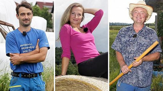 Sedm farmářů a jedna farmářka hledají vhodný protějšek skrze reality show.