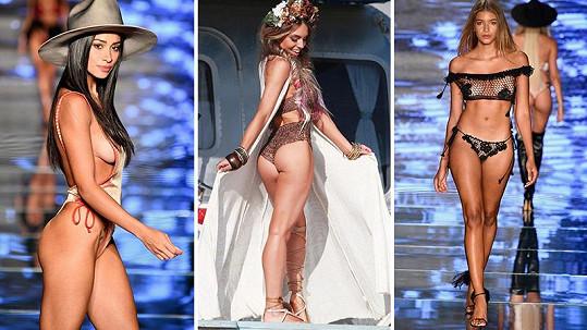 Stephanie Princi (uprostřed) se modelingu sama věnovala. Nyní navrhuje sexy plavky.