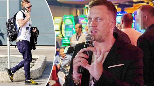 Poté, co Jakub Prachař sbalil kufry, vyrazil na uzavřenou party do kasina.