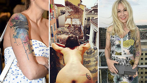 Hrachovcová, Prachařová, Kohoutová a další české celebrity propadly tetování.