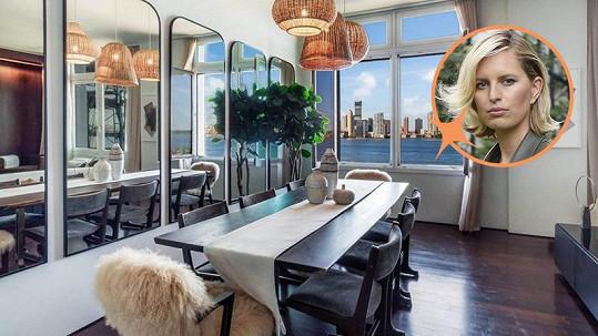 Karolína Kurková prodává newyorský byt.