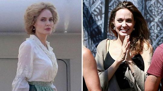 Angelina je k nepoznání.
