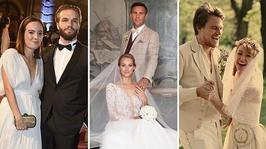 Kdo se loni tajně vdal či oženil?