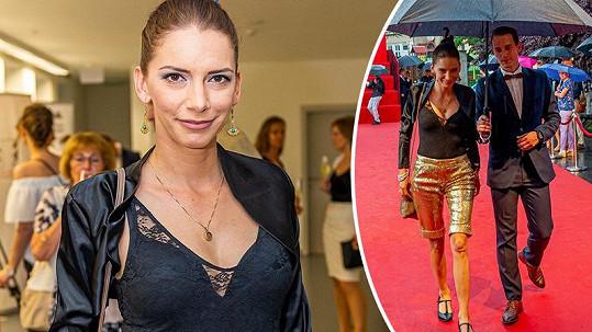 Dorota Nvotová na slavnostní příležitost zvolila velmi provokativní outfit.