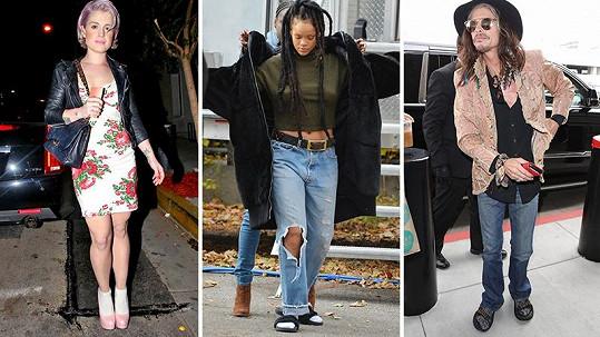 Tyto celebrity si libují v nošení ponožek do jakékoliv obuvi.