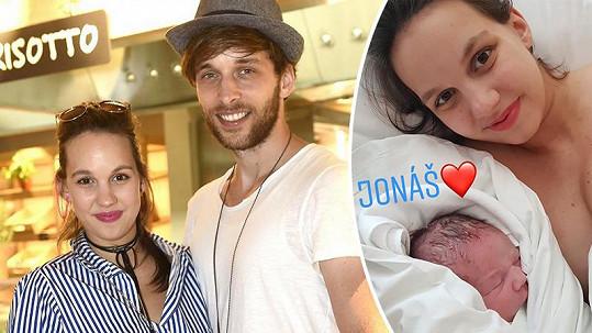 Michaela Tomešová je už doma z porodnice.