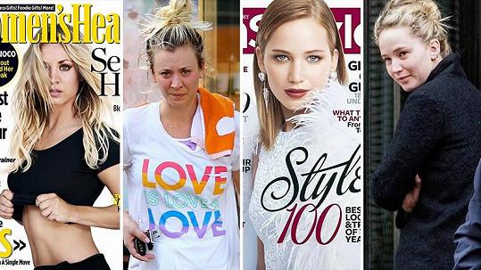 Jak se celebrity mění na titulních stránkách časopisů?