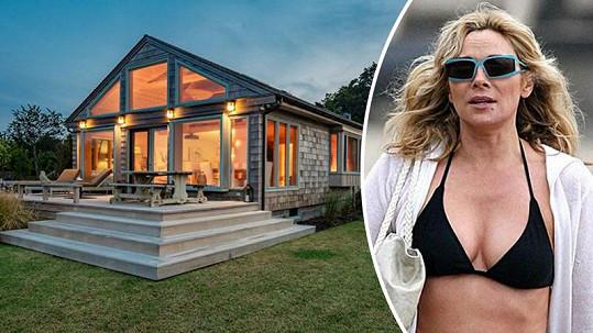 Kim Cattrall prodává dům u moře.