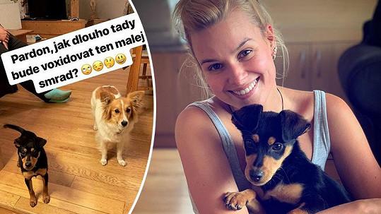 Patricie Solaříková se raduje z nového přírůstku do rodiny.