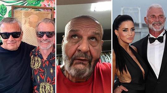 Leoš Mareš, Rytmus i přítel Andrey Pomeje se pomocí aplikace proměnili v dědky.
