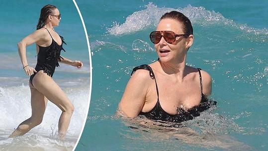Stella McCartney jako obvykle strávila povánoční dovolenou v Karibiku.