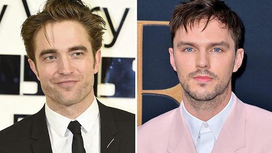 Robert Pattinson, nebo Nicholas Hoult (vpravo)?