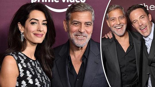 George Clooney na premiéře filmu The Tender Bar