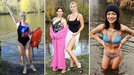 Tyto slavné osobnosti klidně skočí v prosinci do ledové vody.