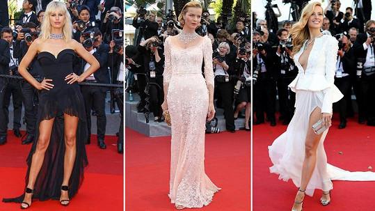 Tyto české modelky ohromily svou krásou na filmovém festivalu v Cannes.