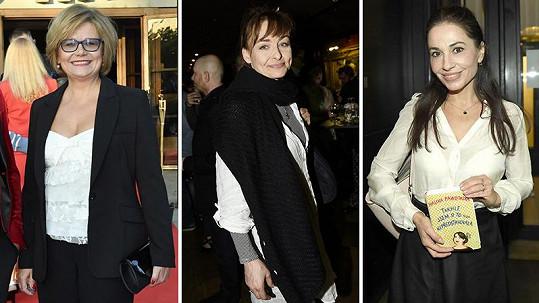 Ivana Andrlová, Andrea Černá a Michaela Kuklová dříve zářily jako princezny v pohádkách.