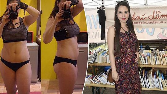 Tereza ukázala svou figuru tři měsíce po porodu.