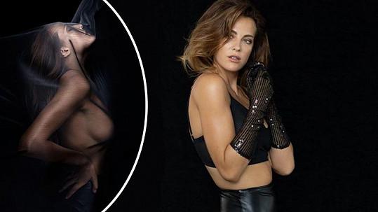 Kateřina Sokolová představila nejvíce sexy fotky své kariéry.