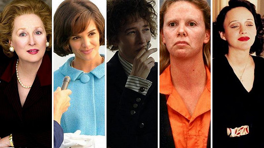 Herečky v rolích slavných žen