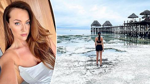 Po návratu ze Zanzibaru nastoupí modelka do karantény.