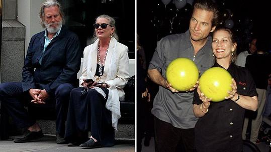 Jeff Bridges a jeho žena po 20 letech