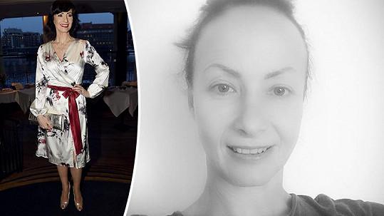 Daniela Šinkorová se ukázala ve své přirozené kráse.