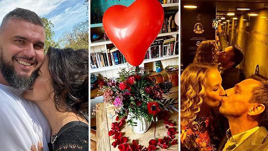 Jak slaví známé tváře Valentýna?