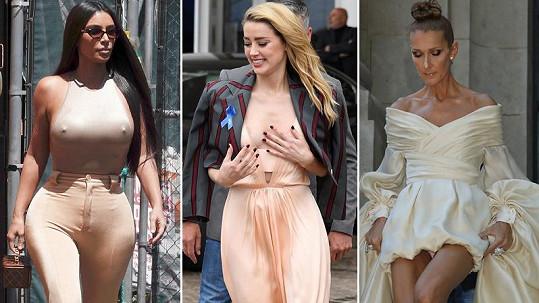 Tyto celebrity to s outfity nevychytaly.