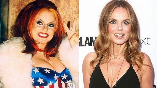 Od doby, co Geri Horner byla ve Spice Girls na vrcholu slávy, utekla spousta let.