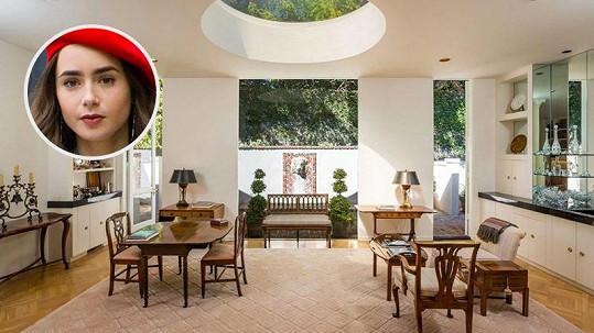 Lily Collins prodala sídlo v Beverly Hills se ziskem.