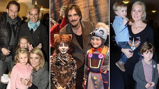 Známe tváře vyvedly děti do divadla.