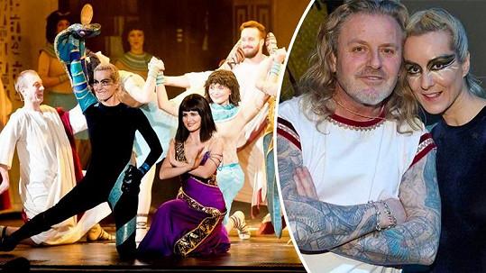 Jovanka Vojtková opět tančila v muzikálu Kleopatra.