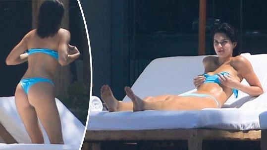 Kendall Jenner na dovolené v Mexiku