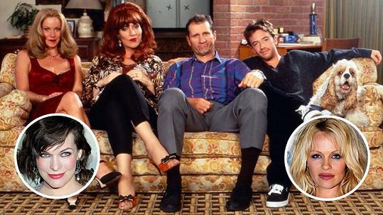 I seriál Ženatý se závazky měl své hvězdné hosty.