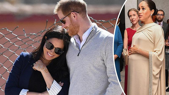 Meghan a Harry v Maroku