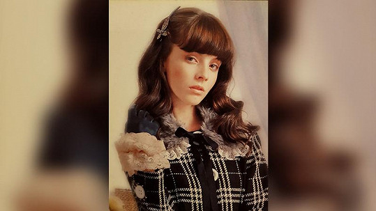 Takhle Gabriela Lašková začínala s modelingem.