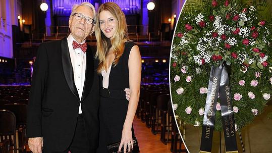 Linda Vojtová měla s dědečkem Vadimem Petrovem krásný vztah.