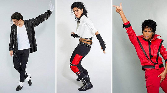 Michael Jackson nechyběl v žádné řadě Tváře.