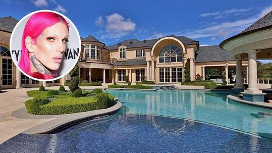 Youtuber Jeffree Star si pořídil sídlo za stovky miliónů. Nahlédněte do něj.