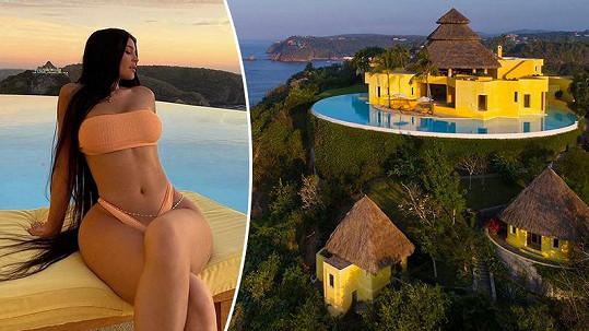 Kylie a Kendall Jennerovy se vydaly do tropického ráje.
