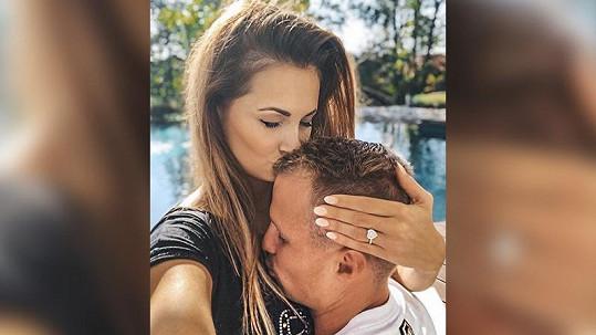 Lenka a David spolu randí skoro dva roky.