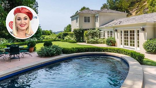 Katy Perry prodává dům v Beverly Hills.