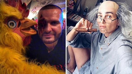Letos se naše celebrity na halloweenských kostýmech opravdu vyřádily.