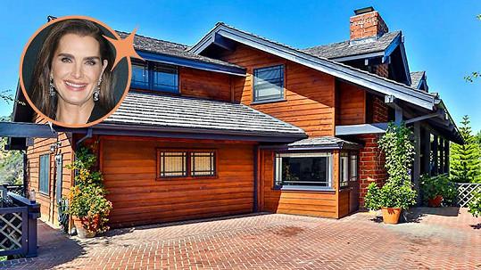 Brooke Shields prodává dům