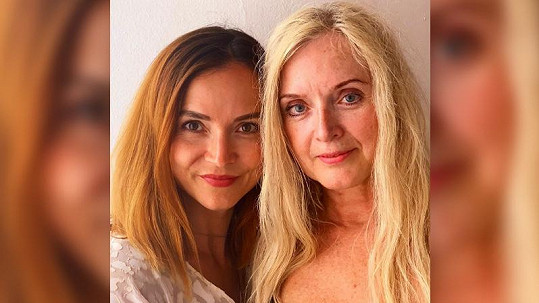 Radka Třeštíková ukázala maminku, která snad vůbec nestárne (vpravo)