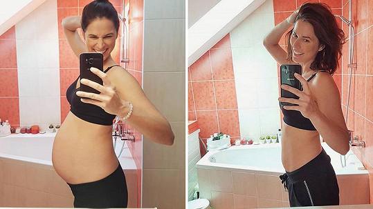 Iveta Kořínková je po porodu opět ve formě.